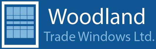 woodland trade windows logo